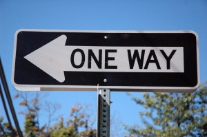 One Way - Left - Narrow